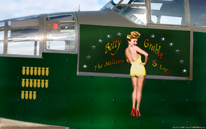 AIRBORNE: BETTY GRABLE by CSuk-1T