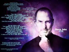 My Tribute to Steve Jobs by NChicaGFX