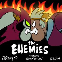 The Enemies (GIF) by DisneyGirl52
