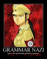 MP: Grammar Nazi by ItaniMajere