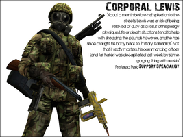 Killing Floor: Corporal Lewis by ZeekyPoe