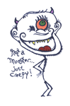 everyween: 2015: not a monster just creepy by organism