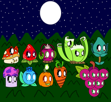 Plants Vs Zombies Cute Plants Final Part by pokemonlpsfan