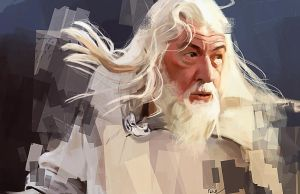 Gandalf the White by Namecchan