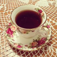 Tea Time with Royal Albert by GAUZEmodeofeve