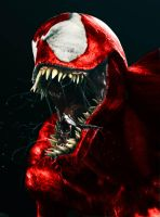 carnage red all over by hellspawn1001