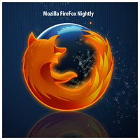 FireFox Nightly icon by D1m22
