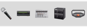 Audio Equipment Icons by ifido