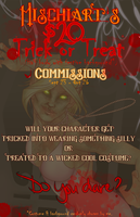 Trick or Treat Commission Special [EXPIRED/UPDATE] by MischiArt