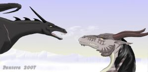 Dragons' argument by The-Black-Panther