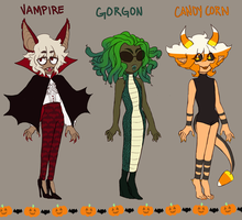 halloween adopts CLOSED by laccertilia