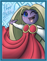 A birthday Jynx by SpinoOne