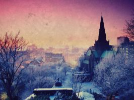 Winter City by SottoPK