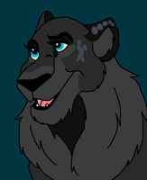 Beautiful Black Lion *Gift* by Stormchaser-Lioness