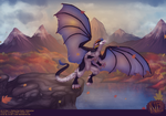 [C] Cliff Tops in Autumn by Bent3Shek