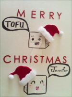 Merry Tofu Christmas by MysticEden