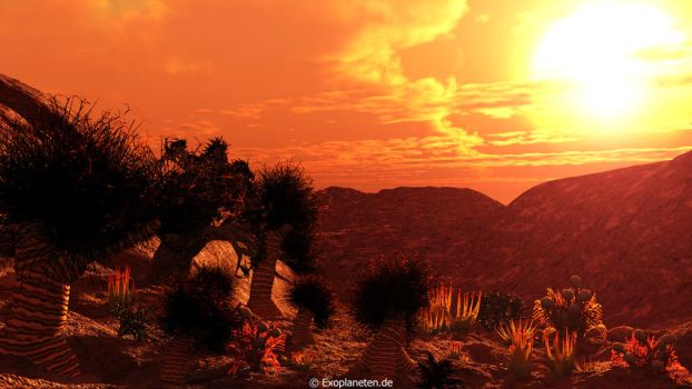 Red Dwarf Planet Reworked - A Scenario for GJ667Cc by ChrisKlm