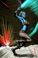 Aayla Secura by alfred183