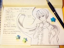 Pen/Marker challenge by UtingY