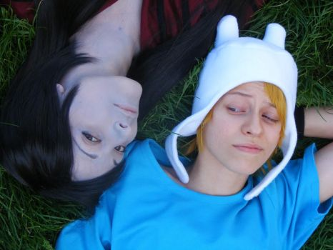 Marcy n Finn - so romantisch by Kancaa-chan