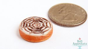 1:12 Spider Web Pumpkin Cheesecake by Bon-AppetEats