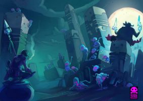 Raising the Dead by RobinKeijzer
