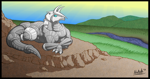 Aggron Territory by Zontar-Zon