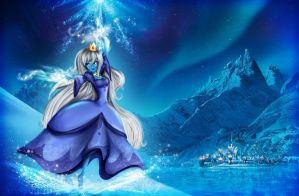 Ice Queen in Frozen by G3N3