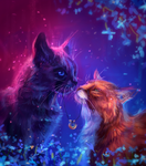 romance and cats by AlaxendrA