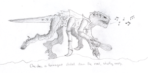 The Whistling Termagant by PyroNeko