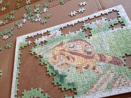 Totoro Puzzle by asami-h