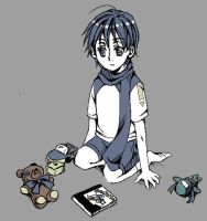 a small child kaito by wafers001