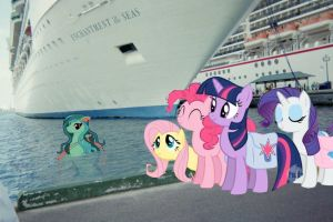 The Main Six Out to save the human race from Flood by OceanRailroader