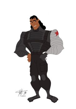 Kronk: The Winter Soldier by catnmaus
