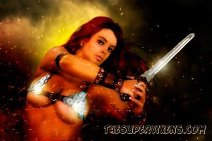 She Devil with a Sword, Red Sonja by TheSupervixens