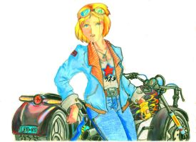 Motogirl by sevenquest