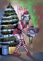 Smilexed Santa Helper by spidey0318
