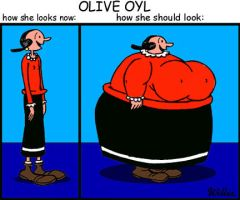 Olive Oyl by WillixArtist