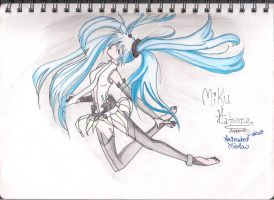 Miku Hatsune - Append by AnImAtEd-MeDoW