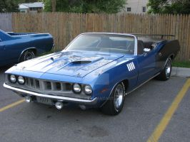 1971 Plymouth Barracuda 383 by Qphacs