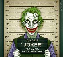Gotham City Mugshots - Joker by Costalonga