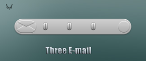 Three E-mail-XWidget by tchiro