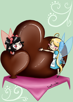 Chocolate Lovers by Hatchet-Ears