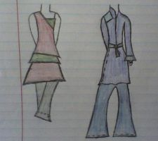 Fierce outfits one and two by Chelsia-x