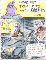 Barney Comic 1 - page 1 by Naturally1nsane