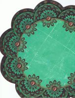 turquoise paper by Zai-stock