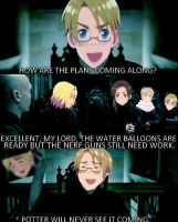 Harry Potter/Hetalia: The Plan by TidalWaveKitty