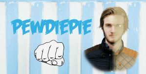 Blue Pewdiepie Wallpaper by ponyhallo1