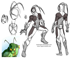 The Bug Redesign 1 by Mysterious-Flame