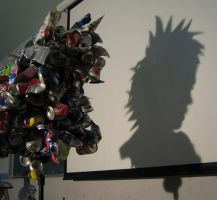 Shadow Sculpture 1 by lessthanfred
